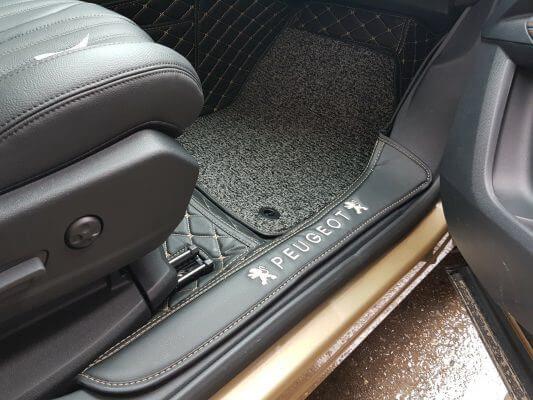 Thảm lót sàn 6D cao cấp xe Peugeot