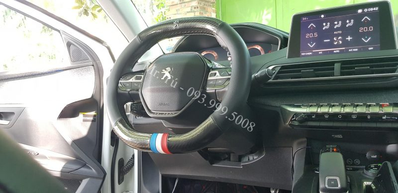 Bọc vô lăng xe Peugeot
