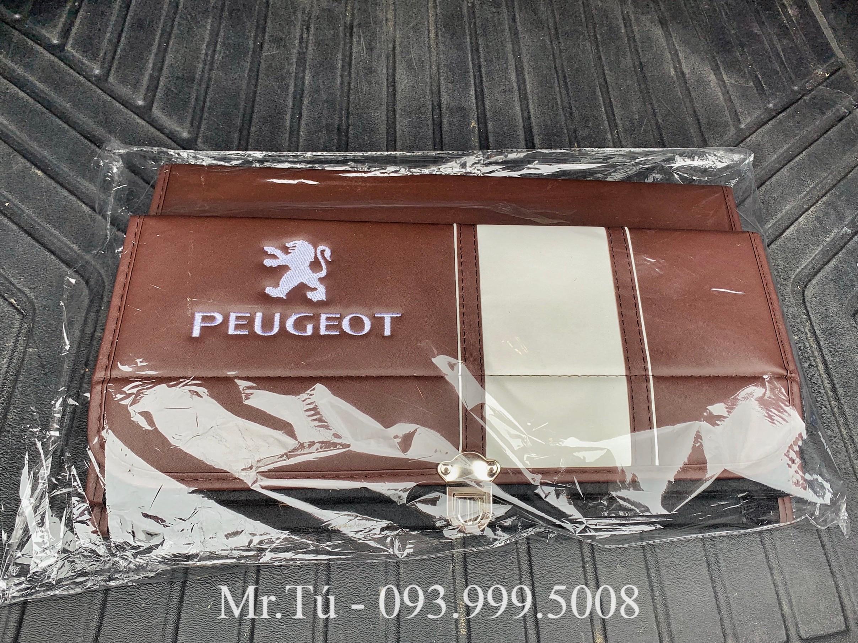 Hộp da đựng đồ cốp xe Peugeot