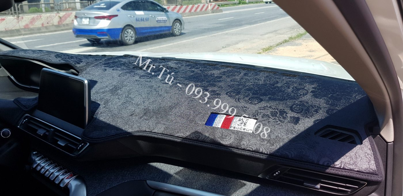 Thảm chống nắng taplo Peugeot