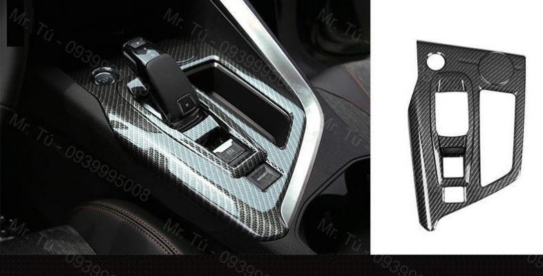 Ốp carbon hộp số Peugeot