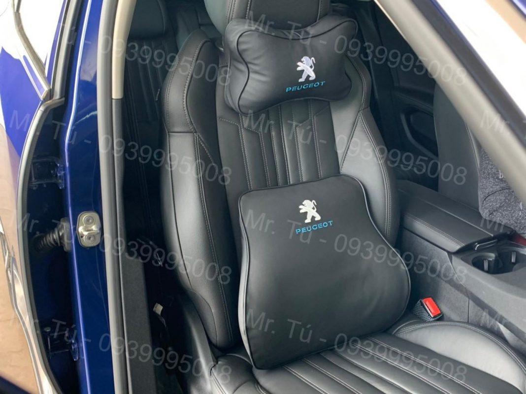 Gối tựa lưng Peugeot cao su non