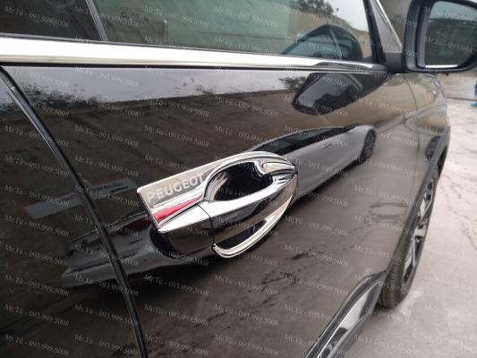 Bộ ốp hõm và nắp xăng xe Peugeot
