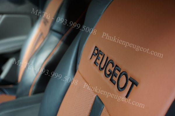 Áo ghế da cao cấp xe Peugeot
