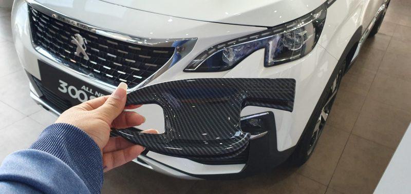 Ốp cacbon tay nắm cửa Peugeot